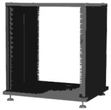Metalen Rack Case